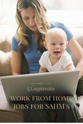 5 Legitimate  Work From    Home Jobs For (2)